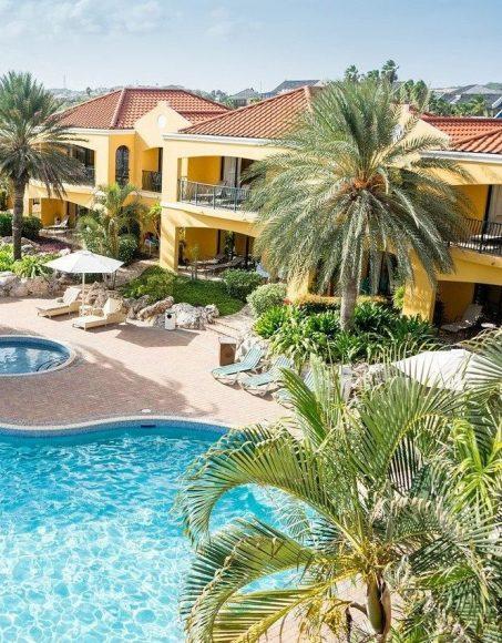 resort, tropical, pool